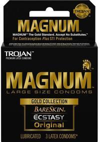 Trojan Magnum Lg Gold Coll 3`s