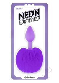 Neon Bunny Tail Purple(disc)