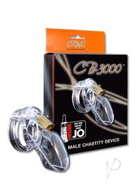 Male Chastity Clear Cb3000
