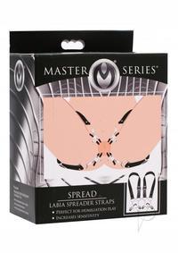 Ms Spread Labia Straps W/clamps