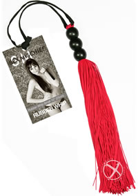 Sandm Small Rubber Whip Red