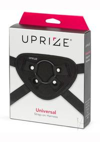 Uprize Universal Strap On Harness Black