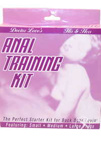 His and Hers Anal Kit Flesh