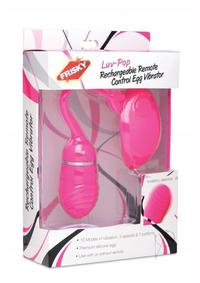 Frisky Luv Pop Recharg Remote Eggvibe Pk