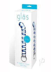 Mr Swirly G-spot Glass Dildo 6.5