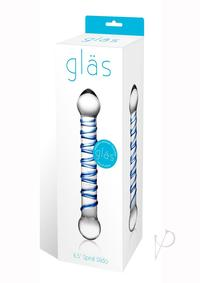 Spiral Glass Dildo 6.5