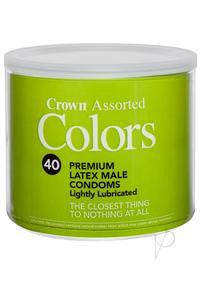 Crown Asst Colors 40/bowl