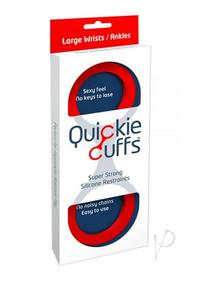 Quickie Cuffs Large Red