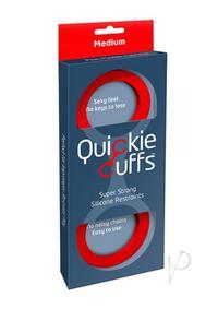 Quickie Cuffs Medium Red