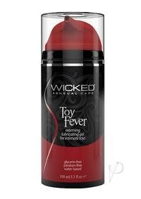 Wicked Toy Fever Warming Lube 3.3oz