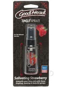 Goodhead Tingle Spray 1oz Strawberry