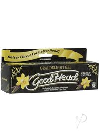 Goodhead Oral Delight Gel Vanilla 4oz