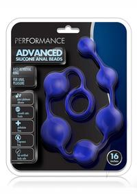 Performance Silicone Anal Beads 16 Ind