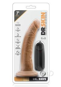 Dr Skin Dr Dave Vibe Cock W/suction Moch