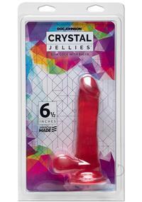 Crystal Jellies Slim Cock 6.5 Pk(disc)
