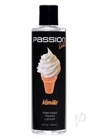 Passion Licks Flavor Lube Vanilla 8oz