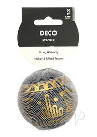 Linx Deco Stroker Ball Clear/black Os