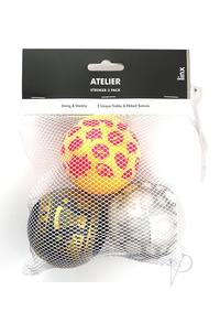 Linx Atelier Stroker Ball 3pk Clr/multi