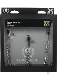 Y Style Broad Tip Clamps W/clit Clamp