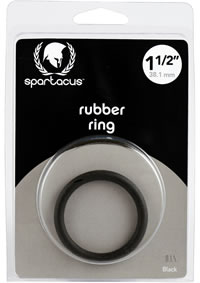 Black Rubber C Ring - 1 1/2