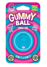 Rock Candy Gummy Ball Blister Blue