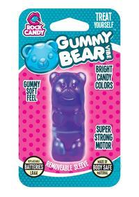 Rock Candy Gummy Bear Vibe Blister Purp
