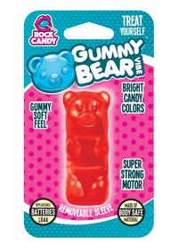Rock Candy Gummy Bear Vibe Blister Red