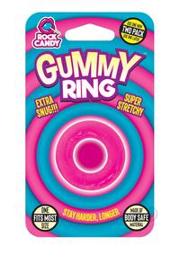 Rock Candy Gummy Ring Pink