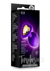 Temptasia Bling Plug Lg Purple