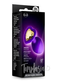 Temptasia Bling Plug Md Purple