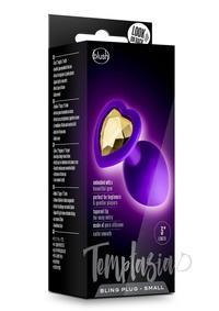 Temptasia Bling Plug Sm Purple