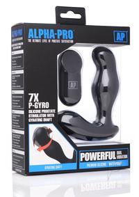 Alpha Pro 7x P-gyro Prostate Stim