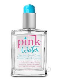 Pink Water 4oz Glass Bottle W/pump