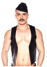 Prowler Red Waistcoat Blk Md