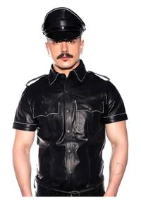 Prowler Red Police Shirt Pipe Blk/gry Lg