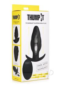 Thump It Swirled Anal Plug