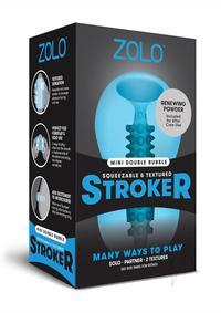Zolo Mini Stroker Blue