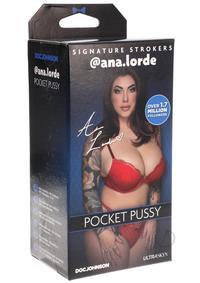 Gosm Ana Lorde Pocket Pussy