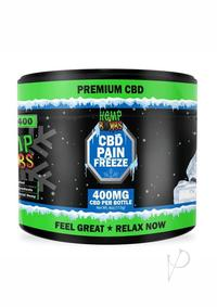 Hb Pain Freeze Jar 4oz 400mg