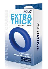 Zolo Extra Thick Cock Ring Navy