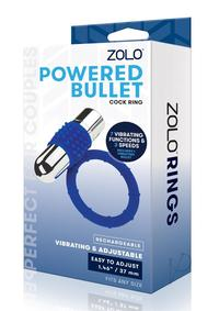 Zolo Rechargeable Vibe Cock Ring Navy