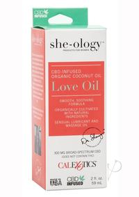 She-ology Cbd Infused Love Oil Packaged