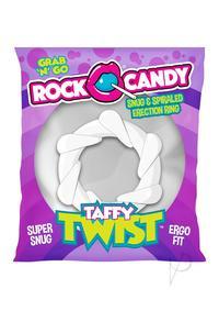 Rock Candy Taffy Twist White