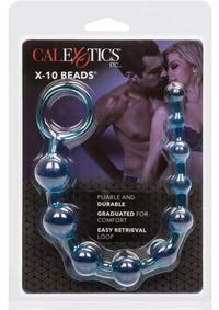 X-10 Beads Blue