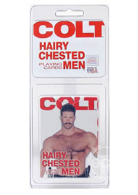 Colt Hairy Chested Men Playing (disc)