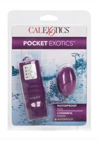 Waterproof Pocket Exotics Egg