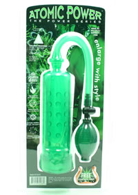 Atomic Power Pump W/grip Green