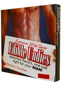 Edible Undies Male Chocolate
