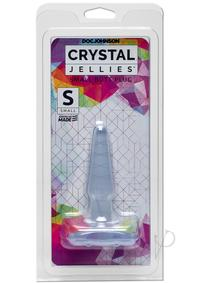 Crystal Jellies Butt Plug Sm Clear