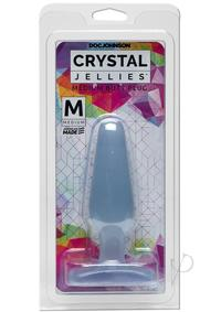 Crystal Jellies Butt Plug Med Clear